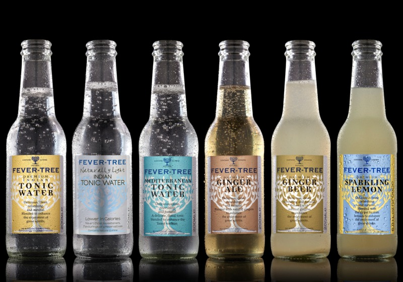 Fever tree premium tonic water mixer drinks best tonic for Best mixers for gin