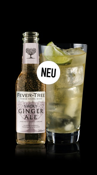 Neu: Fever-Tree Smoky Ginger Ale